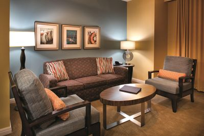 Wyndham Vacation Resorts At National Harbor living room