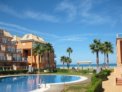 Photo for 2 bedroom Apartment, sleeps 4 in Miraflor with Pool, Air Con and WiFi