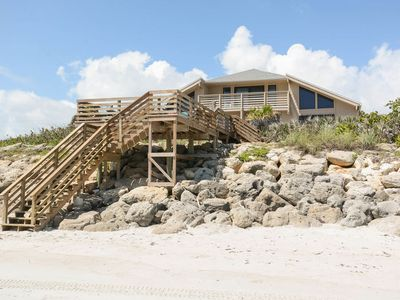 Photo for South Half of Oceanfront Duplex - Car Free Beach - 6007 S. Atlantic
