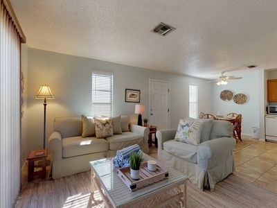 Photo for Quiet and peaceful duplex with pool and canal view.