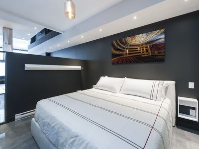 Photo for Stylish loft in the Montreal Plateau area close to the metro station