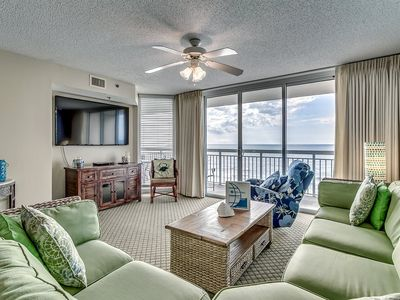Photo for 6th Floor Oceanfront Condo, Recliner, Lazy River   Crescent Shores - N 603