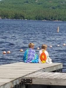 Photo for Swim, Kayak,  lawn games. Walk to ice cream. Live Theatre , firepit smores!