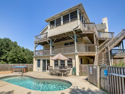 Photo for Climate Change | 850 ft from the beach | Private Pool, Hot Tub