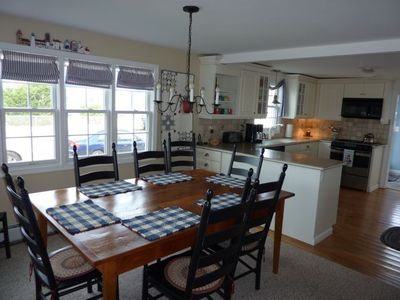 2 MASTER SUITES !  On the bay - great for large families!