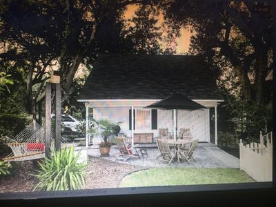 Photo for Somewhere in Time, Historic District Garden Cottage / Extended Stay