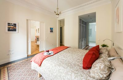 Photo for Magnificent apartment with 10 balconies in Malasaña