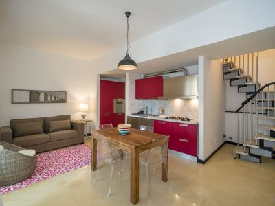 Photo for Apartment B - Two Floor Flat with Terrace, 90 m from Sea
