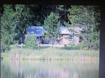 Photo for Private Lodge on Private Lake, Embarrass MN. Boat & Motor Cable WiFi Internet