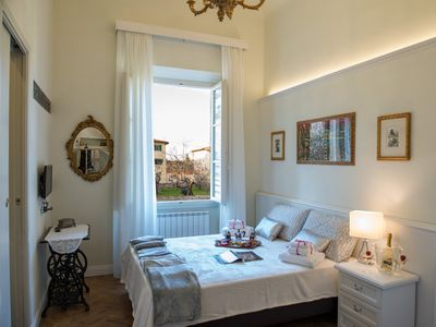 Photo for Antica Sartoria transformed into a refined apartment in the heart of Florence.