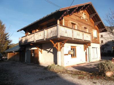 Photo for APARTMENT LOCATED ON THE 1st AND 2nd FLOOR OF A CHALET IN THE MOUNTAINS