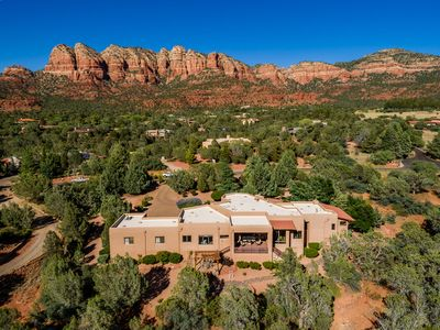Photo for Remodeled 4 Bdrm 3.5 Bath Home with Hot Tub, Private and Surrounded by Sedona Red Rocks