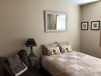 Photo for Furnished room with adjoining bathroom and family room