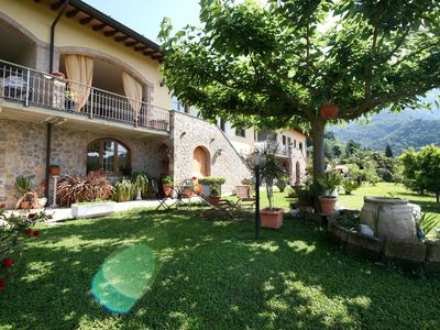 Photo for Stunning  villa with WIFI, TV, terrace, washing machine, panoramic view and parking