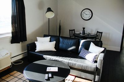 couch and dining