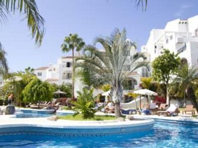 Photo for Tenerife 2BR on Costa Adeje - Tropical Heaven in Paradise, Resort Pool!