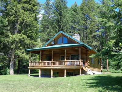 Photo for Private Lake with One 3 Bdrm 1 1/2 Bath Log Home. 175 Acres