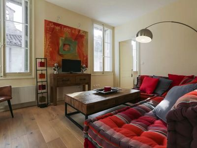 Photo for Apartment in a Particular Hotel / 2 bedrooms / 4 persons with Wifi