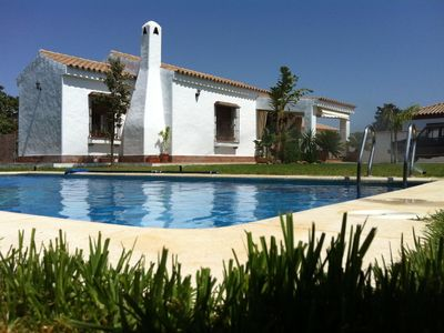 Photo for Great Villa with Pool, next to the Village and Beaches, ideal for Families.