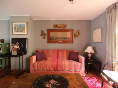 Photo for Beautiful, charming & comfortable 4 level bohemian-chic apt. in trendy Barranco.