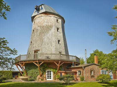 Photo for Lovingly restored Dutch mill with park and private bathing lake / Spreewald