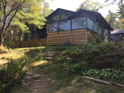 Four season cottage/home on Wolf Lake in the Kawartha Highlands
