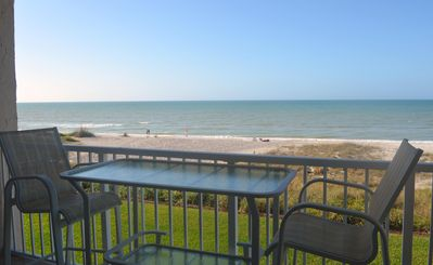 Photo for Gulf Front Unit in Beautiful Longboat Key