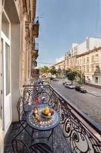 Photo for A wonderful ,spacious one-room apartment is in the heart of Lviv.