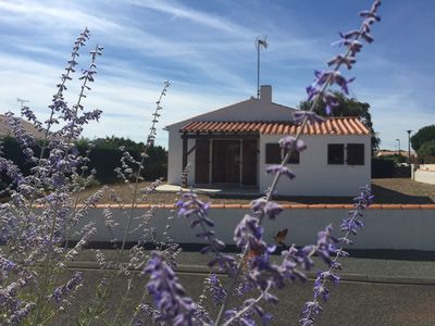 Photo for At 500 m from the beach longeville sea, house with enclosed grounds