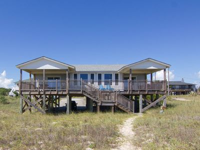 Photo for ENJOY THE GULF BREEZES and the outstanding beach view from the sundeck and spacious Florida room.