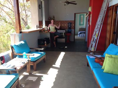Photo for Playa Maderas Surf Break View. With Nearby Yoga / Consistent Surf / Restaurants