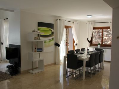 Photo for Beautiful Detached Spacious Villa, Amazing views, Private Heated Pool, WiFi, A/C