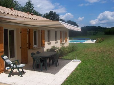 Photo for House with private pool in the Dordogne Perigord black village