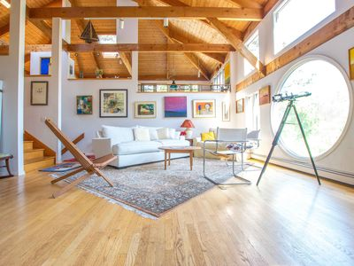 Photo for #316: Bright, open, creative home on Drummer Cove you will LOVE! Dog friendly!