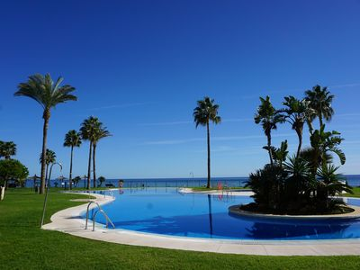 Photo for 2 bedroom beachside apartment MC1 in Calahonda, Costa del Sol, Spain