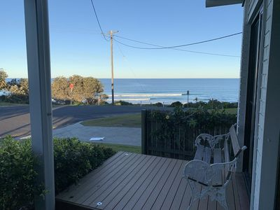Photo for BEACH FRONT location! VIEWS, open plan living,  WiFi, luxury linen  & gifts!