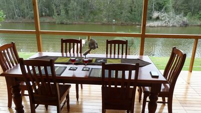 Photo for LAKECONJOLA.COM - ABSOLUTE PRIVATE WATERFRONT IN YOUR BACKYARD - PRIVATE JETTY