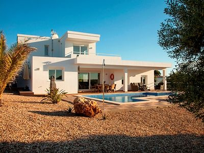 Photo for Modern, spacious, private, AC, wifi, freeview,  views of olive groves