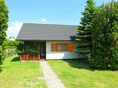 Photo for Vacation home Balaton H358 in Balatonmariafurdo - 4 persons, 2 bedrooms
