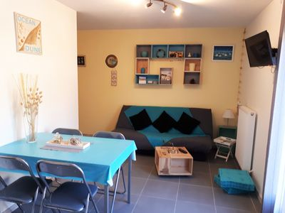 Photo for Holiday rental Bassin d'Arcachon 2/4 pers. quiet area all amenities
