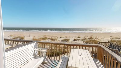 Photo for Tybee Lights Condominiums - Unit 110-B - Ocean Front - FREE Wi-Fi