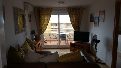 Photo for Fantastic beach appartment on piles playa near Oliva, Valencia, Spain