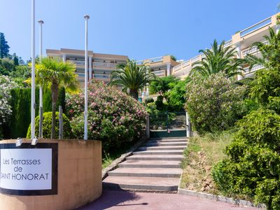 Photo for TERRASSES SAINT HONORAT - Terrasse - Vue Mer - Apartment for 4 people in Théoule-sur-Mer
