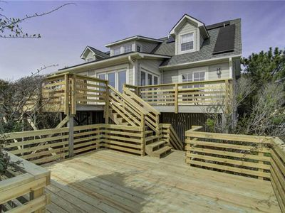 Photo for Spacious Oceanfront Home with Brand New Deck