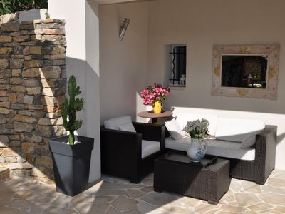 Photo for charming Provencal villa between sea and mountains