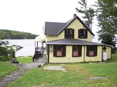 Photo for Best view in East  Boothbay , Maine - 4 Bedroom Oceanfront Cottage