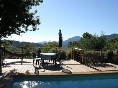 Photo for Charming 4 Bedroom villa at the Riviera near Cannes - with sea & mountain views