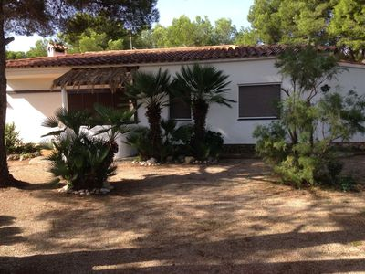 Photo for Detached 6 bedrooms Private swimming pool Garden Beach has 450m