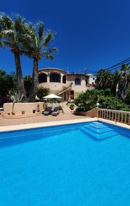 Photo for Fantastic villa with sea views and private pool