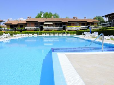 Photo for Residence near the center of Lazise, big garden, pool, wifi.